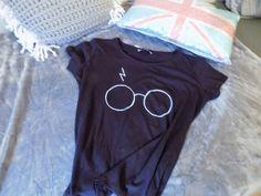ARTE EN TU DIA: Camiseta para una fan de Harry Potter