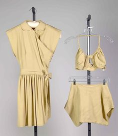 Beachwear Claire McCardell (American, 1905–1958) Manufacturer: Townley Frocks (American) Date: ca. 1948 Culture: American Medium: Wool