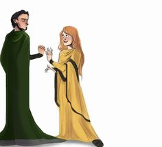 Slytherin And Hufflepuff by LessienMoonstar