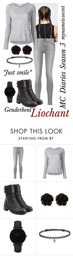 """""""Liochant"""" by mynameis-secret ❤ liked on Polyvore featuring 7 For All Mankind, Frame Denim, Philosophy di Lorenzo Serafini, Erica Lyons, CLUSE and BERRICLE"""