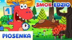 Stary niedźwiedź mocno śpi - Piosenki dla dzieci od Smoka Edzia - HD