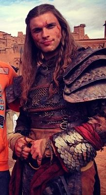 Ed Skrein as Daario Naharis from the upcoming Season 3 of Game of Thrones! Sorry about the low res. - Imgur