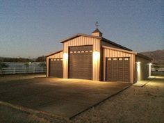 PWS makes high quality steel buildings that are perfect for your property! PWS makes high quality steel buildings that are perfect for your property! Building A Pole Barn, Metal Shop Building, Base Building, Building A Garage, Building Design, Building A House, Steel Garage Buildings, Residential Steel Buildings, Metal Garages