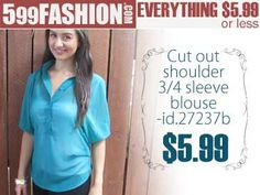 """599fashion.com - Everything $5.99 or Less. Check out this weeks """"5 Favorite Picks""""."""