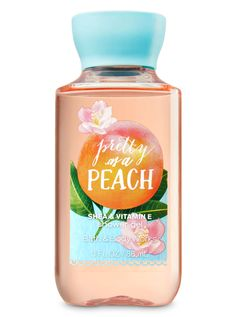 Signature Collection - Pretty as a Peach Travel Size Shower Gel by Bath & Body Works Signature Collection Pretty as a Peach Travel Size Shower Gel - Bath And Body Works Bath Body Works, Bath And Body Works Perfume, Victoria Secret Perfume, Perfume Collection, Makeup Collection, Bath And Bodyworks, Benefit Cosmetics, Body Spray, Smell Good