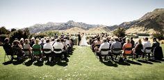 Lookout Lodge Wanaka wedding ceremony  www.fluidphoto.com