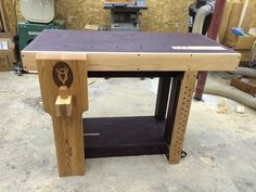 My version of the Short Block V8 bench
