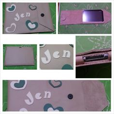 Diy samsung tab 10.1 cover/ Made of genuine leather