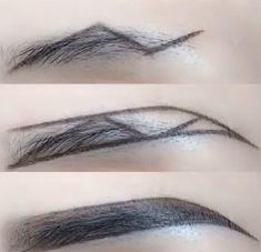 Simple and easy to learn beautiful eyebrow makeup - Make-up - Accesorios para Maquillaje Eyebrow Makeup Tips, Makeup Videos, Skin Makeup, Makeup Brushes, Beauty Makeup, Makeup Tips Dark Skin, Makeup Hacks, Makeup Routine, Make Up Looks
