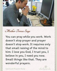 Quote from Mother Teresa Catholic Quotes, Catholic Prayers, Catholic Values, Religious Sayings, Roman Catholic, I Love You God, Beautiful Prayers, Saint Quotes, Faith Prayer