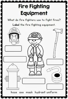 Printables Fire Safety Worksheets i see the firefighter mini book free from twistynoodle com fire safety week with sparky dog worksheets for grades 1 2