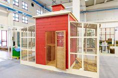 Casette in legno per giardini e parchi - Terenziani