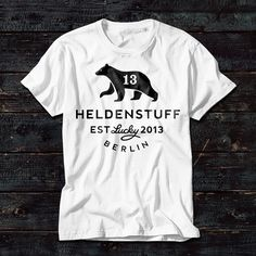 Heldenstuff T-shirts & Adventures / super rad sweet kickass graphics / If you are a hero, a daredevil, a rebel or a wild thing – we make these shirts for you. #tshirt #tshirts #tshirtdesign