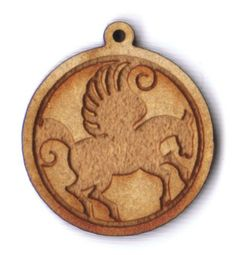 Pegasus in round frame 1 inch bead facing right EP Laser http://www.amazon.com/dp/B00A7X3Z5M/ref=cm_sw_r_pi_dp_S4Mswb0H7PANZ