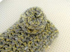 Grey and Yellow ipocket by fiadesigns on Etsy, $9.00