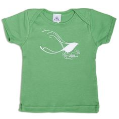 Upper Playground - Herbert Baglione Bird Infant & Toddler Tee, Grass