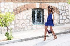 royal blue dress ::: jessie chanes