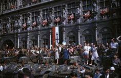 La Liberation de Paris en couleurs