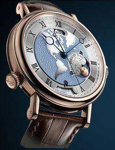 Breguet Classique Watches: World map