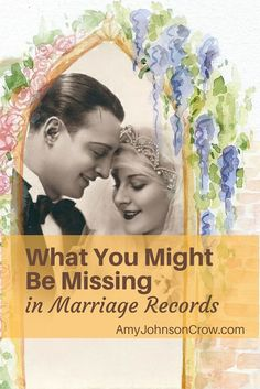 Beyond the names of the bride and groom and marriage date and place, there's a valuable clue you might be missing in marriage records.