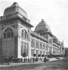 Iar Restaurant, Moscow. Ca. 1909. Adolf Erikhson.  Ezhegodnik Moskovskogo arkhitekturnogo obshchestva , 1910–1911.