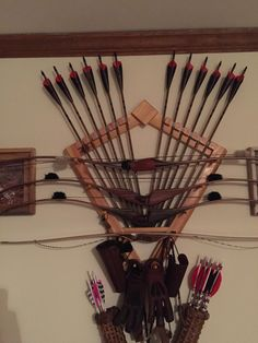 "Bow rack pictures/plans??? - Traditional Archery Society ""An International Traditional Archery and Bowhunting Society"" ITABS.org"