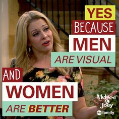 """S4 Ep15 """"The Book Club"""" - Whew... Truth bomb dropped. Hard. #MelissaAndJoey"""
