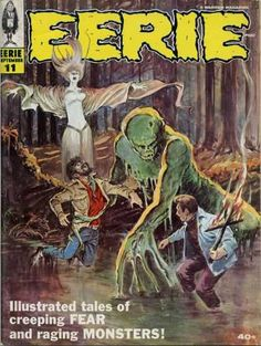 Horror - Monsters - Swamp Man - Witch Woman - Beasts
