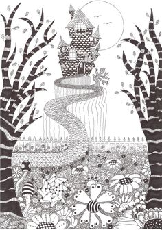 Zentangle made by Mariska den Boer 56