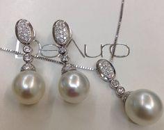 Deauro joyas #arteenoro#joyeria#artesanal perlas australianas y oro blanco