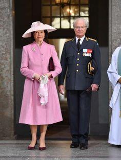 Getingbetyg på Victorias, Kuningatar Silvia ja kuningas Kaarle Kustaa, (30.4.16)