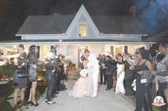 Mr. and Mrs. Sturdivant  #thompsonhouseandgardens #sendoff #athensweddingvenue #weddings #brideandgroom