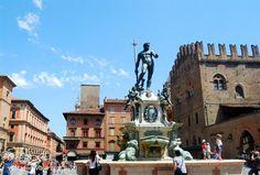 """Fonte de Netuno - """"O que fazer em Bolonha: dicas para curtir a capital gastronomica da Italia"""" by @VontadeDeViajar"""