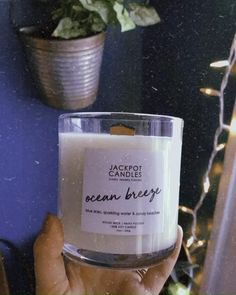 Harmony. Balance. Serenity. The fresh fragrance of this scented candle will fill your home with relaxing tones of clear skies, sparkling water, and sandy beaches. Bring tranquility to your space with the soft glow and pure scent of this candle. And don't forget - there's a ring inside worth $15 to $5,000! 😮✨ Jewelry Candles, Candle Rings, Candle Jars, Goth Style, Sandy Beaches, The Fresh, Breeze, Serenity, Don't Forget