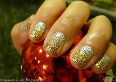 Ombré Glitter Bling Gelish Manicure
