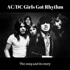 One of my favourite AC/DC songs, Girls Got Rhythm was released in 1979 as an EP, and later that same year as part of the legendary album Highway To Hell.