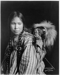 "Native American Women | Madonna of the North"", unknown woman and child, Inuit, c 1912 ..."