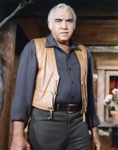 """Lorne Greene's real name was Lyon Himan """"Chaim"""" Greene, and this Canadian actor became very famous during the 60's and the 70's,"""