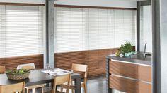 Te koop bij www.cdinterieurs.nl Laat u inspireren door Luxaflex® raamdecoratie. Houten Jaloezieën - 50 mm