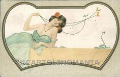 Art Nouveau Raphael Kirchner postcard cartolina RK199   63,00 EUR