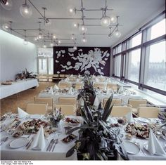 Palast der Republik restaurant, April 1976