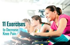 11 Exercises That Help Decrease Knee Pain | via @SparkPeople #fitness #workout #health