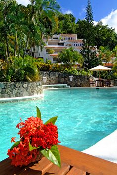Windjammer Landing - St Lucia  Most memorable of my vacations. Fail in love with my boyfriend there, who is now my husband.