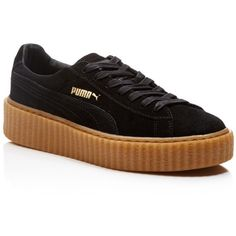 Fenty Puma x Rihanna Suede Creepers ( 155) ❤ liked on Polyvore featuring  shoes 4ef5a721d