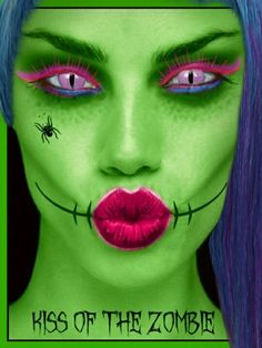 Kiss the zombie