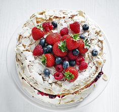 Adding sponge cake into the traditional Eton Mess formula takes it to dizzying new heights...