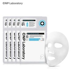KOREAN  CNP Laboratory Quick Soothing S.O.S Mask (5 sheets) 2Step Ampoule Mask #CNPLaboratory