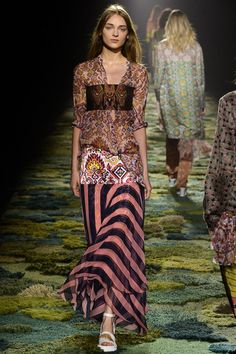 Dries Van Noten womenswear, spring/summer 2015, Paris Fashion Week