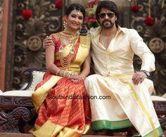 Weddings Discover Yash and Radhika Pandits Wedding, Reception and Mehendi Photos – South India Fashion