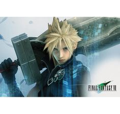 Final Fantasy VII Poster Cloud. Hier bei www.closeup.de